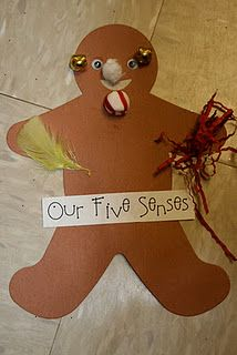 Gingerbread Week & Our Five Senses