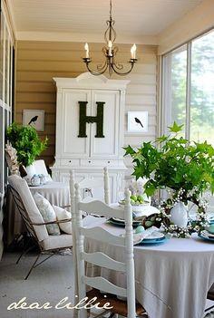 back porch by araceli