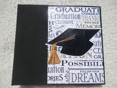 6x6 Graduation Album by SimplyMemories on Etsy