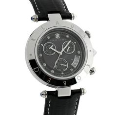 Klaus Kobec Women's Couture Leather Watch | Overstock.com Shopping - The Best Deals on More Brands