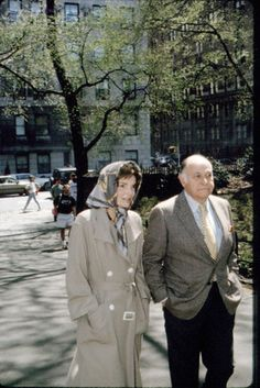 J.KENNEDY-ONASSIS TAKES A WALK IN CENTRAL PARK  Date Photographed:April 24, 1994♛.❤❃❤❃❤♛     http://en.wikipedia.org/wiki/Jacqueline_Kennedy_Onassis        http://en.wikipedia.org/wiki/Maurice_Tempelsman          With .......Best Her .....Friend Ever ..........  Maurice Tempelsman (born August 26, 1929.