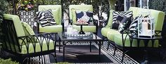 Transform your outdoor space into a stylish oasis with the array of patio furniture sets at Frontgate. Shop our outdoor furniture collections now. Used Outdoor Furniture, Rattan Furniture, Modern Furniture, Rustic Furniture, Antique Furniture, Furniture Ideas, Outdoor Spaces, Outdoor Living, Outdoor Decor