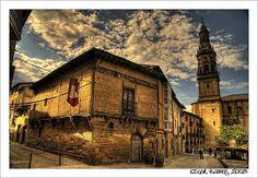 PUEBLO DE BRIONES Y SAN VICENTE La Rioja, España.