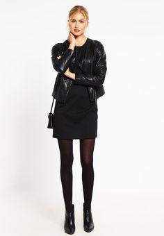 NAF NAF CLAPPER Veste en cuir black prix Veste femme Zalando 149.99 €