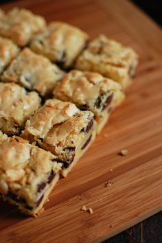 well.....We love coconut..........             We love chips             We love bars....  It's fair to say this is probably wonderful !!!  Coconut Chocolate Chip Bars