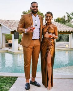 This couple killed it! 😍🔥🙌🏾 Tag a stylish couple you know. Couple Chic, Classy Couple, Stylish Couple, Couple Style, Matching Couple Outfits, Matching Couples, Black Love Couples, Cute Couples, Classy Outfit