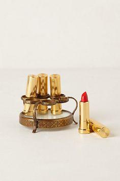 Round Vestige Lipstick Holder