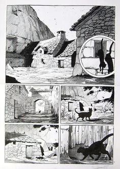 Bonhomme Matthieu - Messire Guillaume par Matthieu Bonhomme - oeuvre originale