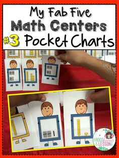 Flash Blog Post! Five Math centers that are fast to assemble, easy to update, and that keep kids learning all year long! Part 3.