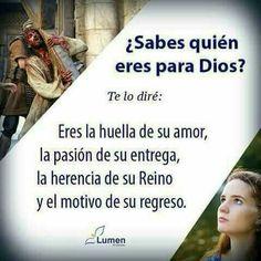 ¿Sabes quién eres para Dios?