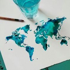 World In Watercolor