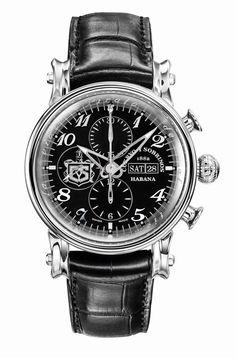 Cuervo y Sobrinos Torpedo Pirata Chrono Day Date Timex Watches, Big Watches, Best Watches For Men, Sport Watches, Luxury Watches, Cool Watches, Apple Watch, Amazing Watches, Automatic Watch