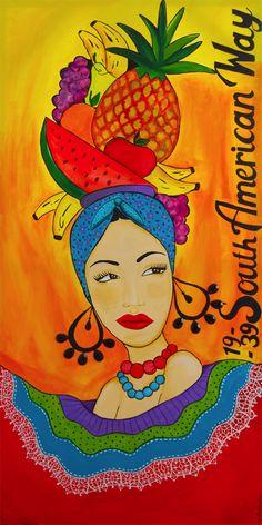 Carmen Miranda - South American Way |Pinned from PinTo for iPad|
