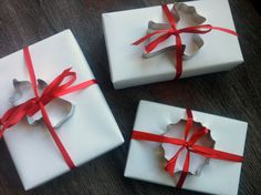 Cookie cutter gift wrap - a gift in a gift!