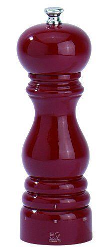 Peugeot PM23584 Paris U'Select 7-Inch Pepper Mill, Red Lacquer - http://spicegrinder.biz/peugeot-pm23584-paris-uselect-7-inch-pepper-mill-red-lacquer/
