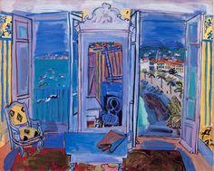 ラウル・デュフィ「ニースの窓辺」 アートについて話そう!|アート&レビュー|NIKKEI STYLE