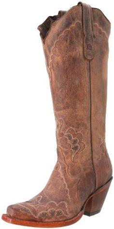 Tony Lama Boots Women's Saigets Worn Goat 6071L Western Boot,Tan,6 B US Tony Lama Boots,http://www.amazon.com/dp/B00BMJDKRI/ref=cm_sw_r_pi_dp_GZAosb0G7ZJF0R13