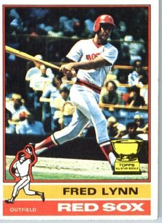 1976 Topps #50 Fred Lynn Boston Red Sox Baseball Card In a Protective Screwdown Display Case by Topps. $12.95. 1976 Topps #50 Fred Lynn Boston Red Sox Baseball Card In a Protective Screwdown Display Case