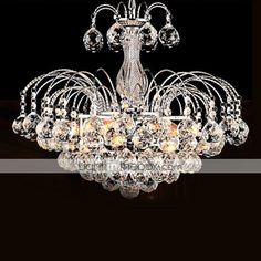 SL® Pendant Luxury Modern Crystal Living 3 Lights 2016 – $148.49