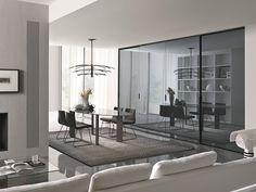 FIRST Armario de vidrio efecto espejo by MisuraEmme
