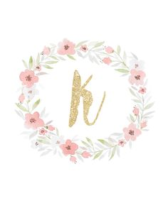 Displaying Glitter Initial Wall Art - K.jpg