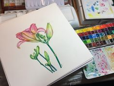 An art and creativity blog specializing in art journaling, watercolor, acrylic and water soluble medium workshops, tutorials and online classes.