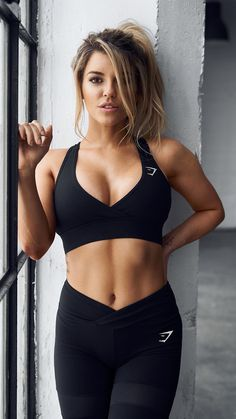 Sexy Girl Black Sports Wear Fit-Find a huge selection of cellphone wallpapers to bring your phone to life.