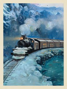 Anderson Design Group – American National Parks – Great Smoky Mountains National Park: Little River Railroad