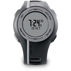 Garmin Forerunner 110 GPSEnabled Unisex Sport Watch  Black Certified Refurbished * Visit the image link more details.(This is an Amazon affiliate link and I receive a commission for the sales)