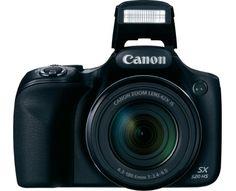 Canon Digitalkamera PowerShot SX520 HS 16.0 Mio. Pixel Opt. Zoom: 42 x Schwarz Full HD Video