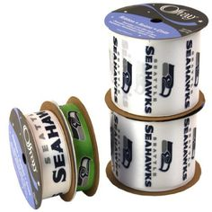Offray NW7267AZ Seattle Seahawks Printed Craft Ribbon Pack, 12-Yard by Offray, http://www.amazon.com/dp/B00AAOYCM8/ref=cm_sw_r_pi_dp_THvRrb0Z1QYH9