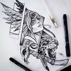 Leg Tattoos, Body Art Tattoos, Tattoos For Guys, Sleeve Tattoos, Tattoo Design Drawings, Tattoo Sketches, Tattoo Gesicht, Family Tattoo Designs, Native Tattoos