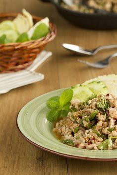 Ensalada de pollo thai