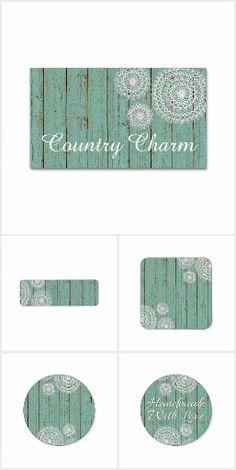 Country Charm Aqua on @zazzle  #country #rustic #crochet #doily #smallbusiness #marketing #branding #printables #shabbychic #farm #zazzle