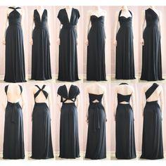 Платья-трансформеры Инфинити ДЛИННЫЕ. Более 50-ти способов завязывания! ЖМИ! Платье-трансформер ИНФИНИТИ длинное.