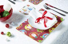Jolly Santa Coasters