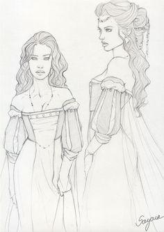 Character Design - Breanne by Sayara-S.deviantart.com on @DeviantArt