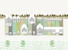 Eco Ruburb, a community hybrid of the rural and the urban (with HawkinsBrown). Image © Sam Jacob Studio
