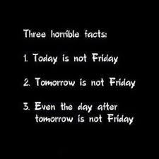 three horrible facts....