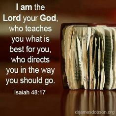 God never stops teaching us! he willl direct you if you ask.