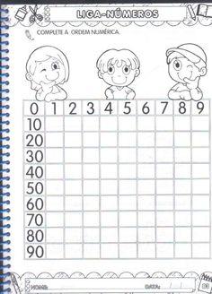 Back To School Number Order Cut & Paste Math Addition Worksheets, Math Literacy, Kindergarten Math Worksheets, Teaching Math, Preschool Activities, Numbers Preschool, Preschool Math, First Grade Math, Math For Kids