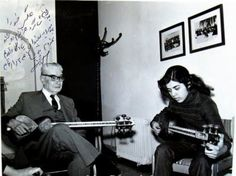 His younger brother Abdolhossein was a very good tar player. Their uncle Mirza Abdollah was a great teacher of setar. Ali Akbar Khan's nephew the Gholam Hossein Khan was another tar player.  He recorded his father's radif in 1962, and his own radif in 1977.  Shahnazi died in March 1985 at the age of 88.