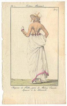 beautiful spencer à la hussarde - costume parisien an 7