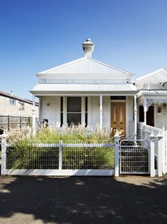 Life Space Journey House Facade Melbourne workers cottage now bachelor pad