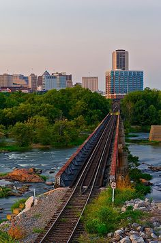 Richmond, VA has many beautiful view points! #Microtel #Wyndham #win