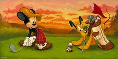 Official website of world renowned fine artist, Tim Rogerson Disney Mouse, Mickey Mouse And Friends, Disney Frozen, Minnie Mouse, Cute Disney, Disney Art, Disney Stuff, Vintage Cartoon, Cartoon Art