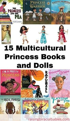 Looking for diverse princess books and dolls for your little one? This list has awesome multicultural princess books and dolls your child will love! Biracial Children, Biracial Babies, Children Toys, Young Children, Parenting Toddlers, Gentle Parenting, Book Girl, Children's Literature, Childrens Books