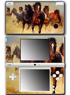 Horse Mare Filly Colt Cute Pet Animal Video Game Vinyl Decal Skin Sticker Cover for Nintendo DSi System -- Awesome products selected by Anna Churchill
