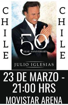 50th Anniversary, Tours, Music, Singers, Movie Posters, Movies, Julio Iglesias, Musica, Musik