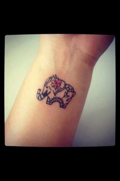 Elephant tattos on pinterest elephant tattoos elephants for Lucky 13 tattoo piercing prices